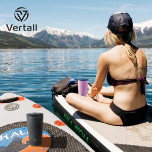 Vertall Stainless Steel 20oz Tumbler, BPA Free Double Wall Vacuum Insulated